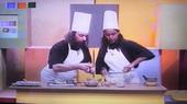 Hubert et Karine en cuisine
